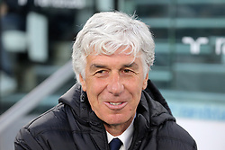 May 19, 2019 - Turin, Turin, Italy - head coach of Atalanta BC Giampiero Gasperini looks on before the serie A match between Juventus FC and Atalanta BC at Allianz Stadium on May 19, 2019 in Turin, Italy. (Credit Image: © Giuseppe Cottini/NurPhoto via ZUMA Press)