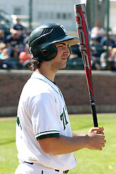 14 April 2013:  A.J. Nathan during an NCAA division 3 College Conference of Illinois and Wisconsin (CCIW) Baseball game between the Elmhurst Bluejays and the Illinois Wesleyan Titans in Jack Horenberger Stadium, Bloomington IL
