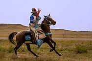 Crow Indian Horseman, Crow Fair, Crow Indian Reservation, Montana