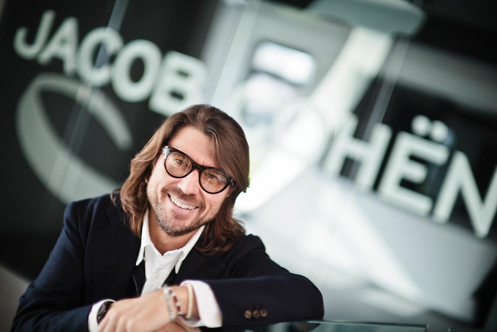 04 NOV 2010 - Adria (Rovigo) - Nicola Bardelle, direttore creativo di Jacob Cohen, nella sede della Giada
