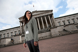UK ENGLAND LONDON 21JUN16 - Bhavisha, 26, MA student for Advanced Audiology at the University College London poses for a photo.<br /> <br /> jre/Photo by Jiri Rezac<br /> <br /> © Jiri Rezac 2016