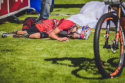 08.09.2018, Lienz, AUT, 31. Red Bull Dolomitenmann 2018, im Bild Durogati Aaron (ITA, Pure Encapsulations) // Durogati Aaron (ITA, Pure Encapsulations) during the 31th Red Bull Dolomitenmann. Lienz, Austria on 2018/09/08, EXPA Pictures © 2018, PhotoCredit: EXPA/ JFK