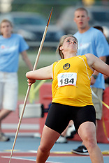 Womens Javelin Throw