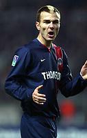 Fotball<br /> Paris St Germain v Metz<br /> 17 januar 2004<br /> Paris<br /> Foto: Digitalsport<br /> Norway Only<br /> Daniel Ljuboja - PSG<br />  *** Local Caption *** 40000997