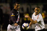20090603: RIO DE JANEIRO, BRAZIL - Corinthians vs Santos FC – Semi Finals: Brazilian Cup 2009. In picture: Chistian (Corinthians) and Paulo Sergio (Vasco). PHOTO: CITYFILES