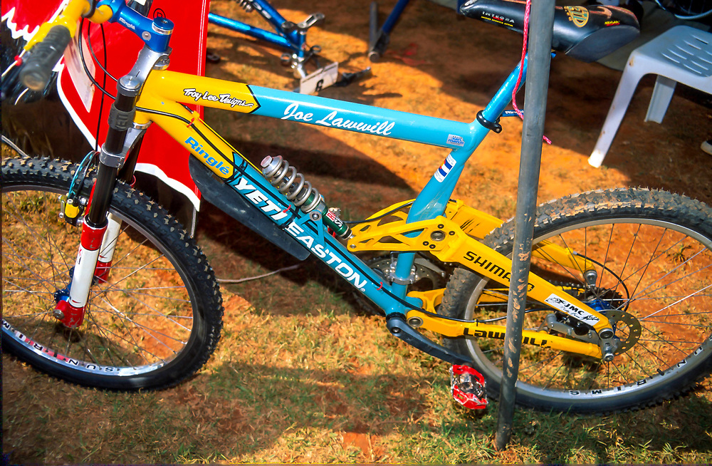 Yeti DH6 downhill bike, 1996
