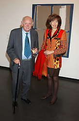 LORD & LADY MONTAGU OF BEAULIEU at a private view of paintings by Rosita Marlborough (The Duchess of Marlborough) held at Hamiltons gallery, Carlos Place, London W1 on 9th November 2005.<br /> <br /> NON EXCLUSIVE - WORLD RIGHTS
