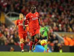 Mamadou Sakho of Liverpool - Mandatory byline: Robbie Stephenson/JMP - 07966 386802 - 25/10/2015 - FOOTBALL - Anfield - Liverpool, England - Liverpool v Southampton - Barclays Premier League