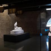 "Venezia - Punta della Dogana . La mostra di Damien Hirst: ""Tresaures from the Wreck of Unbelievable. ""Tadukherba and the Sphinx""."