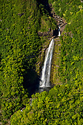 Waterfall, HalawaValley, Molokai, Hawaii