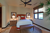 Modern bedroom interior design in luxury villa