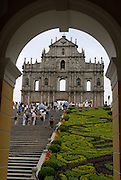 Old colonial Macau's Portuguese legacy is found in some old churches and city buildings.