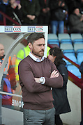 Graham Alexander manager of Scunthorpe United during the Sky Bet League 1 match between Scunthorpe United and Swindon Town at Glanford Park, Scunthorpe, England on 28 March 2016. Photo by Ian Lyall.