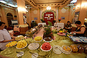 Breakfast Buffet at Continental Hotel.