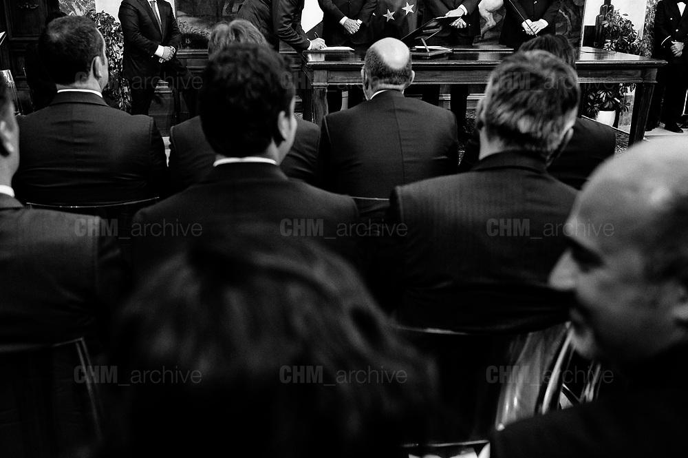 Swearing in ceremony at Palazzo Chigi. Rome 13 June 2018. Christian Mantuano / OneShot