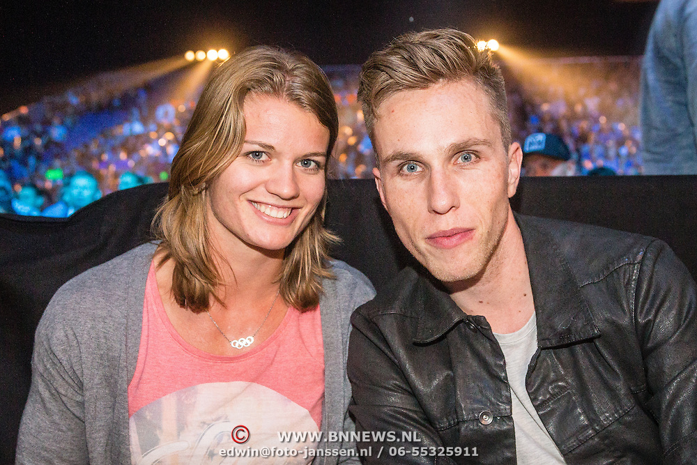 NLD/Amsterdam20160625 - Glory 31, Nicky Romero en partner Daphne Schipppers