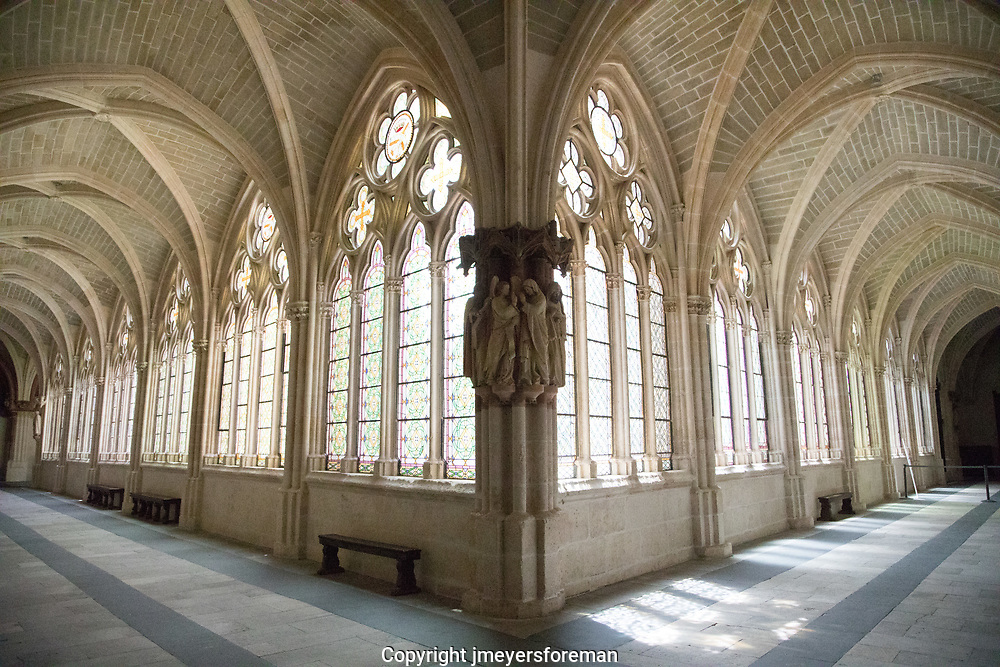 quest cloister, Burgos Cathedral, Burgos Spain. Many of the old cathedrals have cloisters attached. There was once a time when these would have been the sole clergy members. Today these are now quiet places for the visitors to spend time, and reflect.