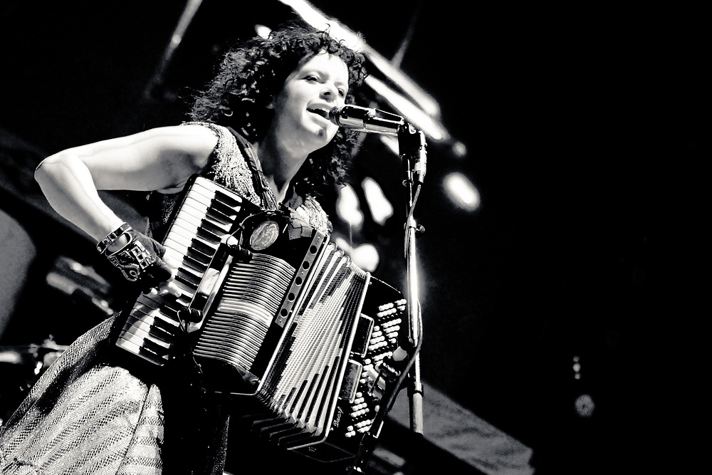 Régine Chassagne of Arcade Fire, in Los Angeles.