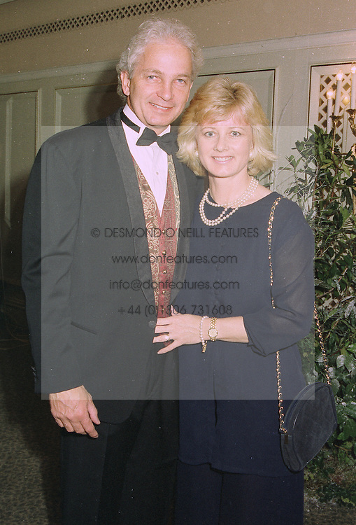 MR & MRS DAVID GOWER, he is the former England cricket captain, at a ball in London on 29th September 1997.MBS 7