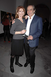 GERALD SCARFE and his wife actress JANE ASHER at the opening party for 'Face of Fashion' an exhibition of photographs by five of the World's leading fashion photographers held at the National Portrait Gallery, St.Martin's Lane, London on 12th February 2007.<br />