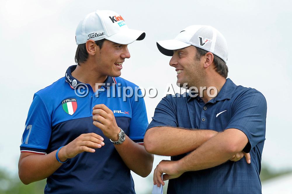 &copy; Filippo Alfero<br /> Golf Italian Open<br /> Torino, 12/06/2011<br /> sport golf<br /> Nella foto: Matteo Manassero e Francesco Molinari