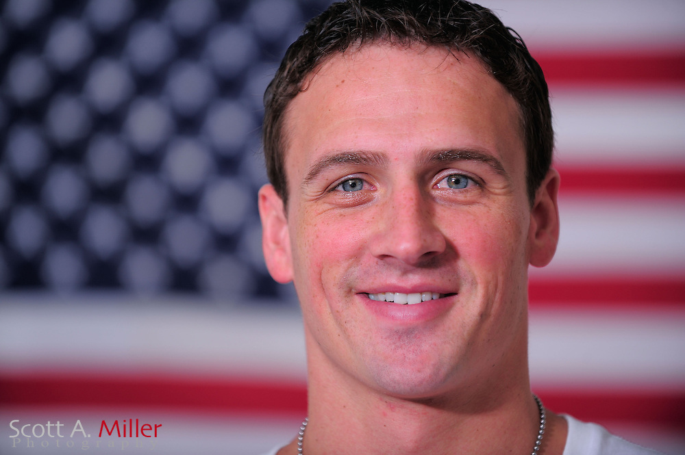 Portrait shoot with 11-time Olympic medalist Ryan Lochte. <br />