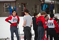 St Paul's School Nordic race.  ©2018 Karen Bobotas Photographer