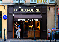 FRANCE PROVENCE AIX EN PROVENCE 3OCT06 - Boulangerie or bakery in the city centre of Aix en Provence, southern France...jre/Photo by Jiri Rezac..© Jiri Rezac 2006..Contact: +44 (0) 7050 110 417.Mobile:  +44 (0) 7801 337 683.Office:  +44 (0) 20 8968 9635..Email:   jiri@jirirezac.com.Web:    www.jirirezac.com..© All images Jiri Rezac 2006 - All rights reserved.