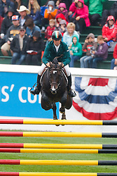 Breen Shane (IRL) - Balloon<br /> BMO Nations Cup<br /> CSIO Spruce Meadows - Calgary 2013<br /> © Dirk Caremans