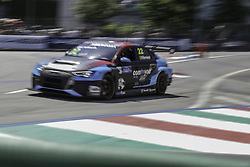 June 23, 2018 - Vila Real, Vila Real, Portugal - Frederic Vervisch from Belgium in Audi RS 3 LMS of Audi Sport Team Comtoyou in action during the Race 1 of FIA WTCR 2018 World Touring Car Cup Race of Portugal, Vila Real, June 23, 2018. (Credit Image: © Dpi/NurPhoto via ZUMA Press)