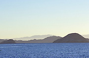 Islands in the Gulf of California, Bahia de los Angeles, Baja California, Mexico