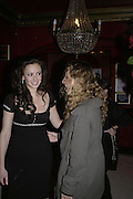 Camilla Al Fayad and Charlotte Dellal, MOVE FOR AIDS HOSTED BY ELLE MACPHERSON & DAVID FURNISH. Koko, Camden High St. London. 7/11/06. ONE TIME USE ONLY - DO NOT ARCHIVE  © Copyright Photograph by Dafydd Jones 66 Stockwell Park Rd. London SW9 0DA Tel 020 7733 0108 www.dafjones.com