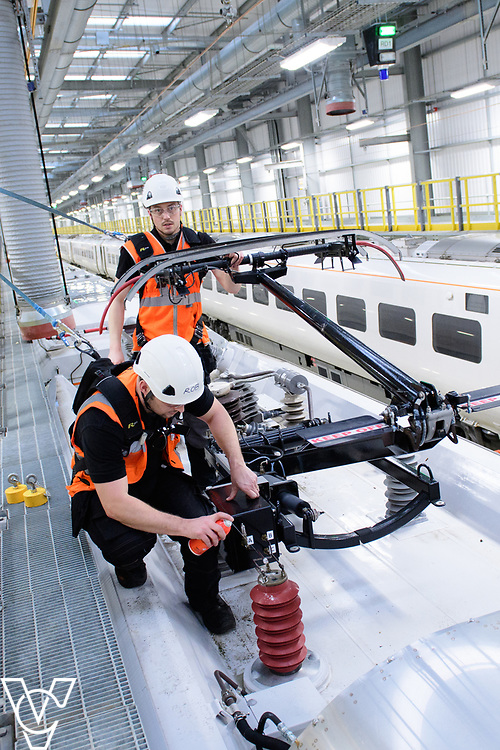 Hitachi Rail Europe, Ten Pound Walk, Doncaster.<br /> <br /> Picture: Chris Vaughan Photography<br /> Date: January 10, 2018