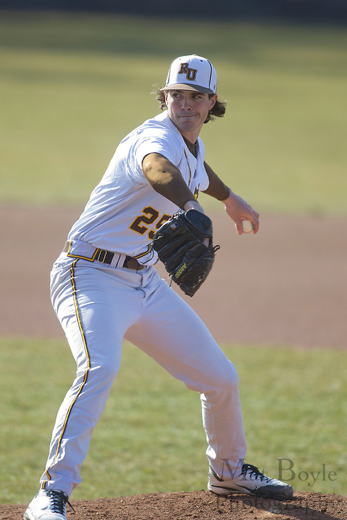 Rowan University Senior Left Handed Pitcher Curtis Arsi (25); Rowan University Baseball hosts John Hopkins University  on Tuesday March 6, 2012 in Glassboro, NJ. (photo / Mat Boyle)
