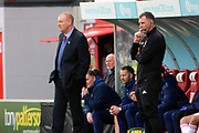 Hamilton Accademical Manager Brian Rice   during the Ladbrokes Scottish Premiership match between Hamilton Academical FC and Rangers at New Douglas Park, Hamilton, Scotland on 24 February 2019.