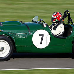 GOODWOOD REVIVAL.....Tim Summers in a 1950 Fraser Nash Le Mans replica in the official practice for the Freddie March Memorial Trophy ..(c) STEPHEN LAWSON | SportPix.org.uk