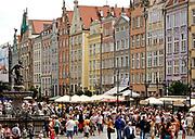 Gdańsk, 2008-06-22, Ulica Długi Targ, Stare Miasto w Gdańsku
