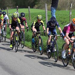 15-04-2018: Wielrennen: Amstel Gold race women: Valkenburg<br />Amy Pieters voert de forcing op de Keutenberg