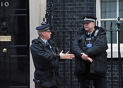 Police outside 10 Downing Street .London Great Britain .5th February 2013. Photo by Elliott Franks / i-Images.