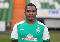 German Soccer Bundesliga 2015/16 - Photocall of Werder Bremen on 10 July 2015 in Bremen, Germany: Cedrick Makiadi