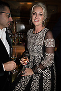BEATRICE VINCENZINI, Pedro Girao of Christies and Duncan Macintyre of Lombard Odier host the last dinner at the Old Annabels. 44 Berkeley Sq. London. 15 November 2018