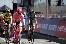 Cecilie Uttrup Ludwig (DEN) of Bigla Pro Cycling Team finishes the Amstel Gold Race - Ladies Edition - a 126.8 km road race, between Maastricht and Valkenburg on April 21, 2019, in Limburg, Netherlands. (Photo by Balint Hamvas/Velofocus.com)