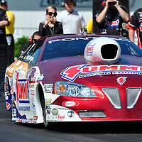 Greg Anderson at Full throttle drag racing series, National Hot Rod Association 2011