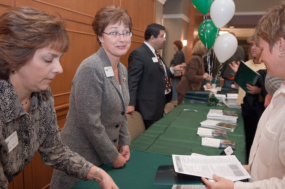 Appalachian Scholars Open House Program in New Baker..Valerie Miller& Sandi Krivest