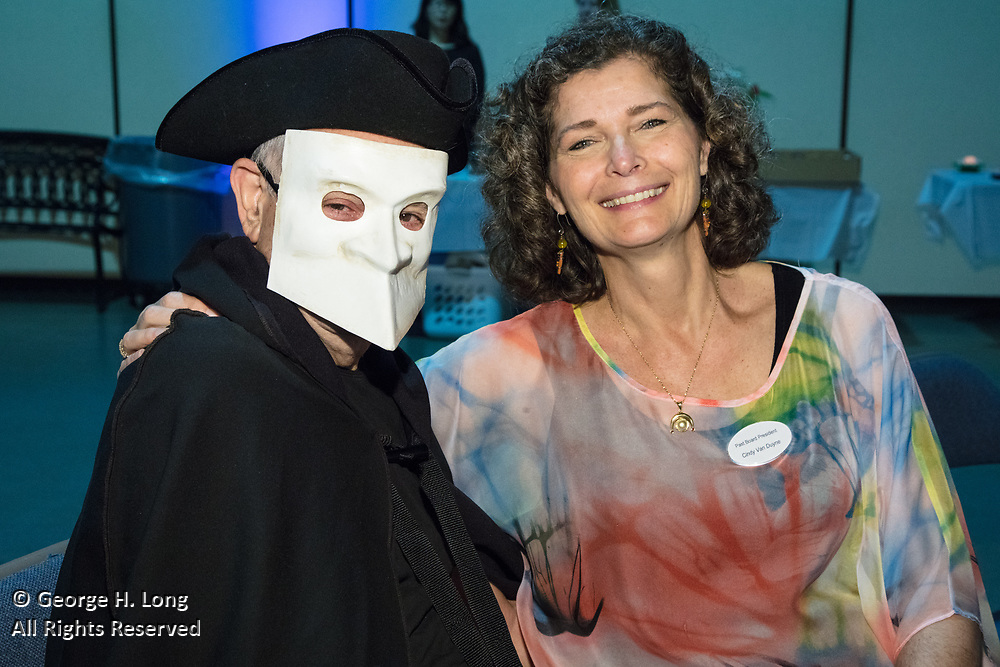 "James Freeman and Cindy Van Duyne; The Women's Center for Healing and Transformation ""An Evening of Masquerade"" fifth annual fundraising gala at the Castine Center in Mandeville, Louisiana on March 31, 2017"