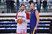 Cusin Marco Gaspardo Raphael<br /> FIAT Torino - Grissin Bon Reggio Emilia<br /> Lega Basket Serie A 2018-2019<br /> Torino 03/02/2019<br /> Foto M.Matta/Ciamillo & Castoria