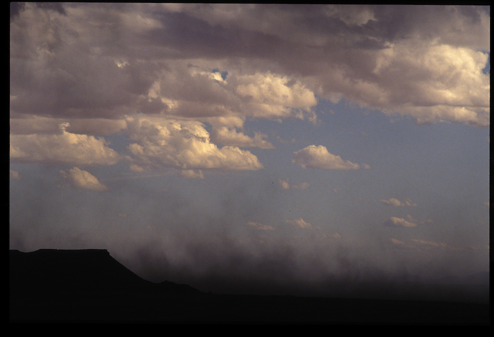 Dust storm near Tuba City.   1993