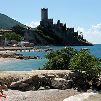 Spiagge  litoranea Malcesine 2009
