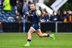 Francois Hougaard of Worcester Warriors during the pre match warm up - Mandatory by-line: Craig Thomas/JMP - 27/01/2018 - RUGBY - Sixways Stadium - Worcester, England - Worcester Warriors v Exeter Chiefs - Anglo Welsh Cup