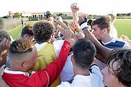 August 30, 2018: The Southwest Baptist University Bearcats play against the Oklahoma Christian University Eagles on the campus of Oklahoma Christian University.